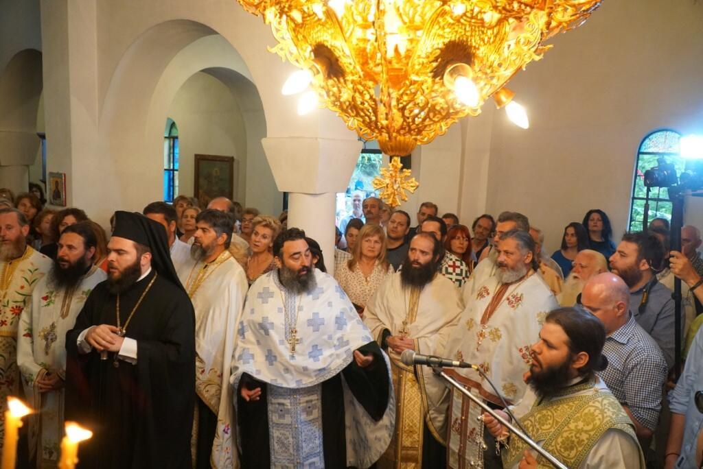 Ενθρόνιση Ηγουμένου στην Ιερά Μονή Αγίου Προκοπίου στο χωρίο των Τρικάλων