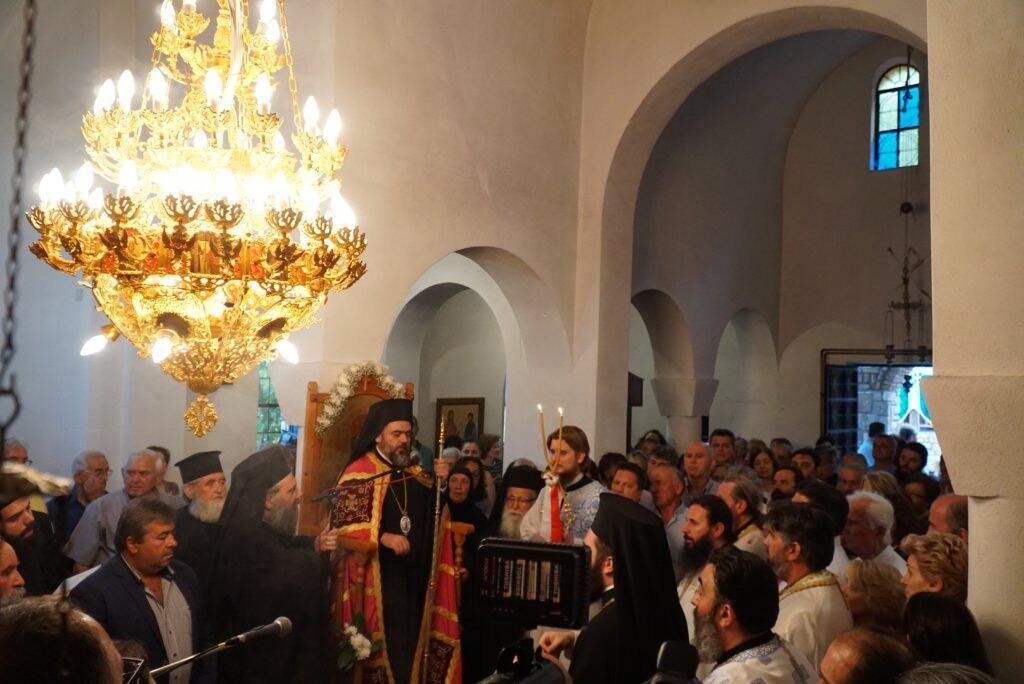 Ενθρόνιση Ηγουμένου Ιερά Μονή Αγίου Προκοπίου στο χωρίο των Τρικάλων