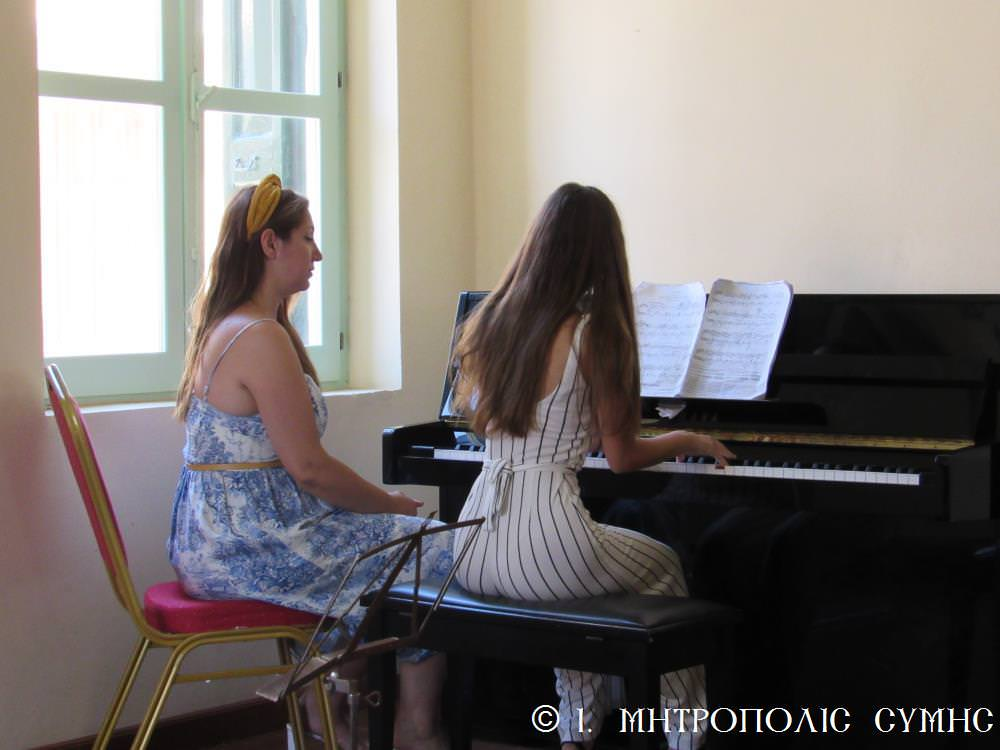 Συναυλία Δημοτικο Ωδείο Ιερά Μητρόπολη Σύμης