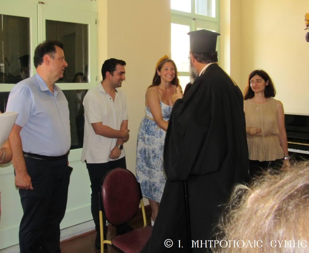 Συναυλία Ωδείου Ιερά Μητρόπολη Σύμης