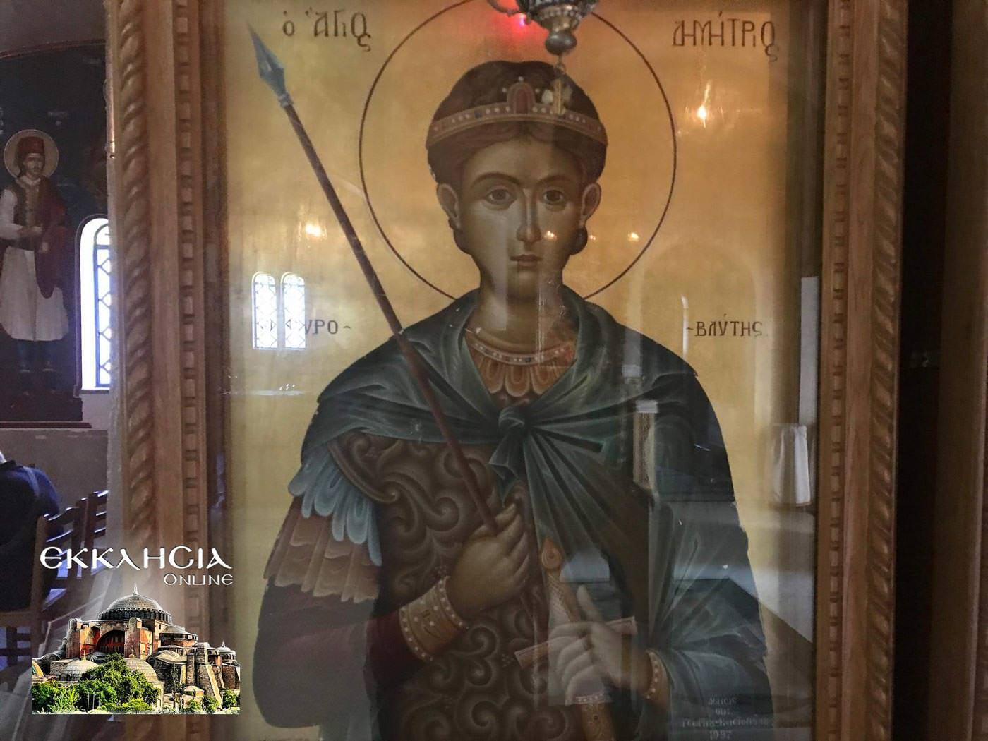 Ιερός Ναός Αγίου Νικολάου Αγία Παρασκευή