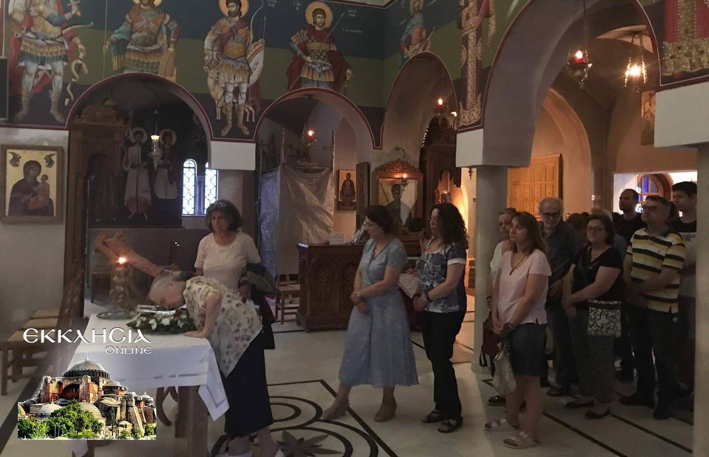 Άγιος Λουκάς Ιατρός Ιερά Λείψανα προσκυνημα