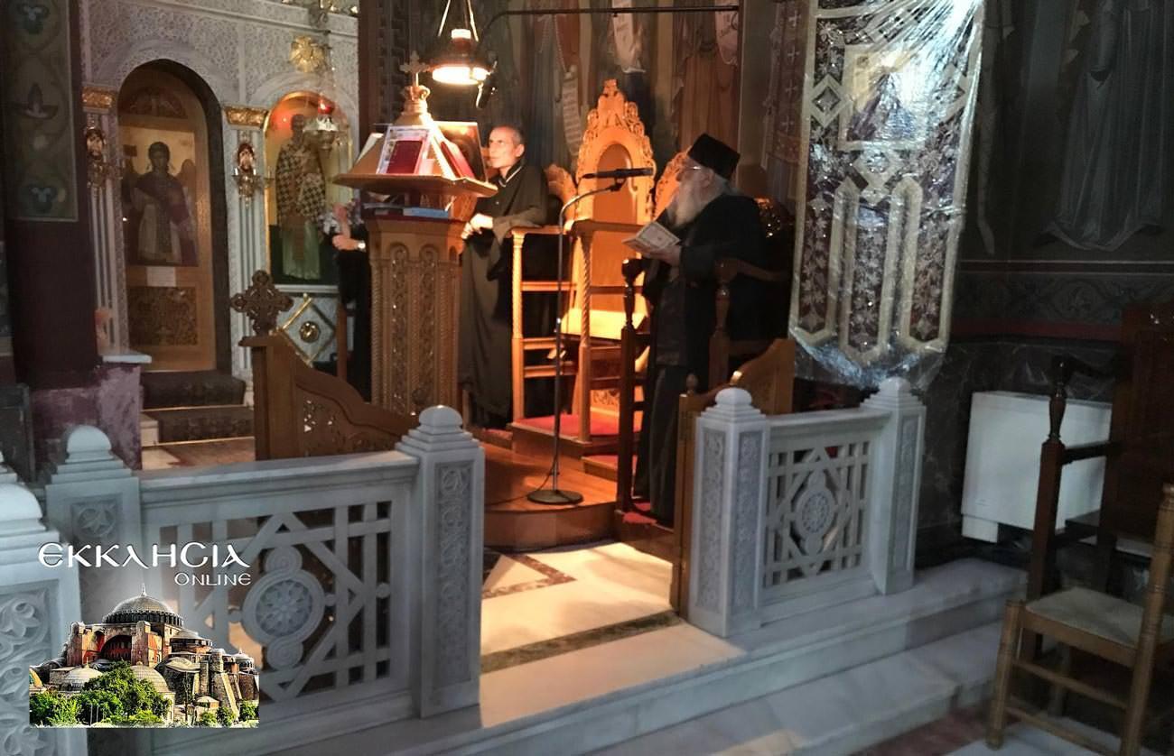 Ιερός Ναός Αναλήψεως του Σωτήρως Δραπετσώνα Άγιοι Ανάργυροι Κοσμάς Δαμιανός