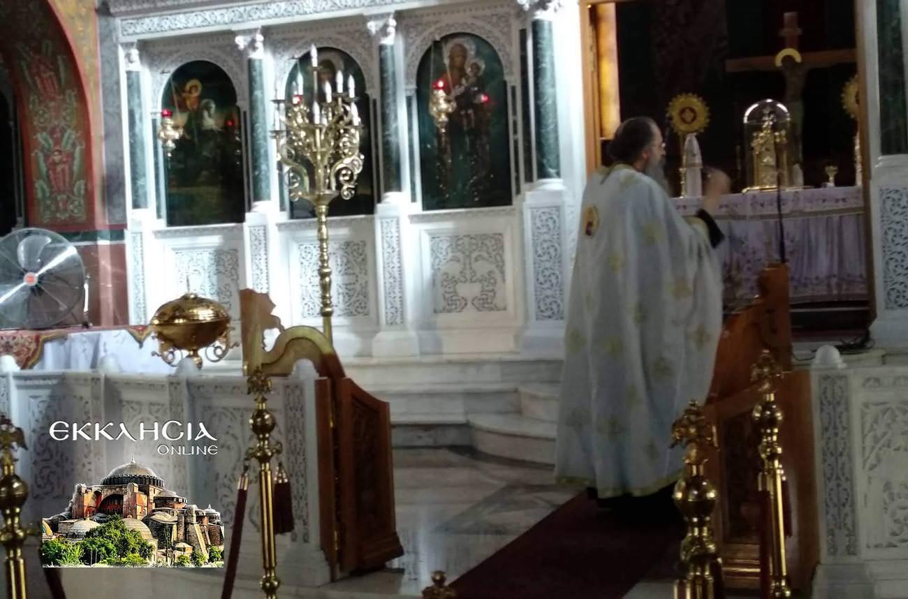 Παναγία Κυκκώτισσα Ελεούσα στον Ιερό Ναό Αγίου Νείλου Πειραιά 2019