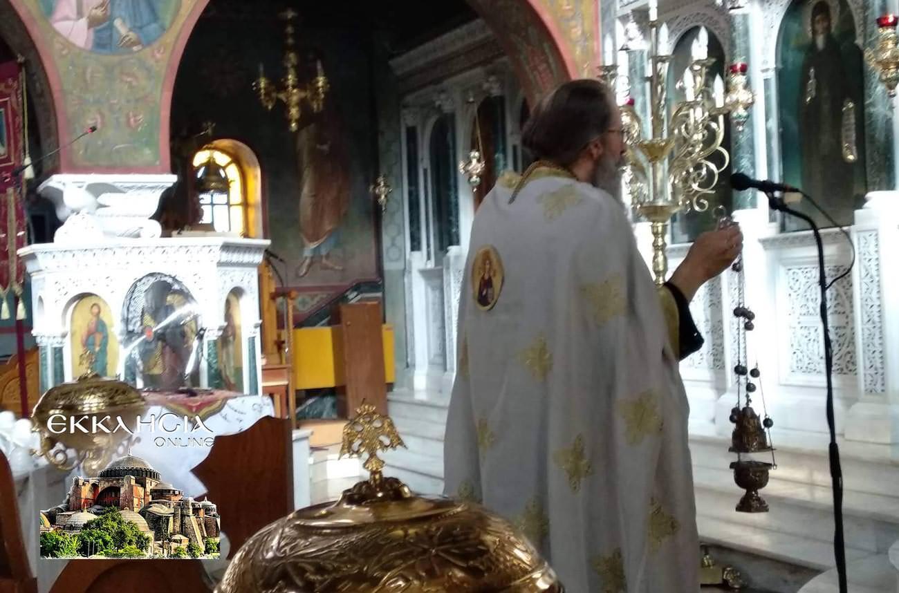 Παναγία Κυκκώτισσα Ελεούσα στον Ιερό Ναό Αγίου Νείλου 2019