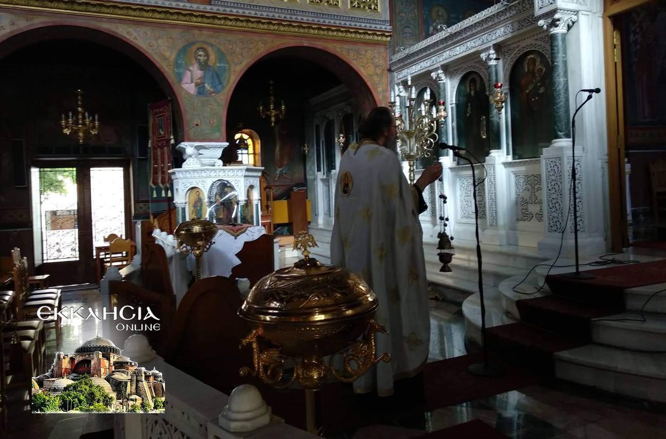 Παναγία Κυκκώτισσα Ελεούσα στο Ναό Αγίου Νείλου Πειραιά 2019