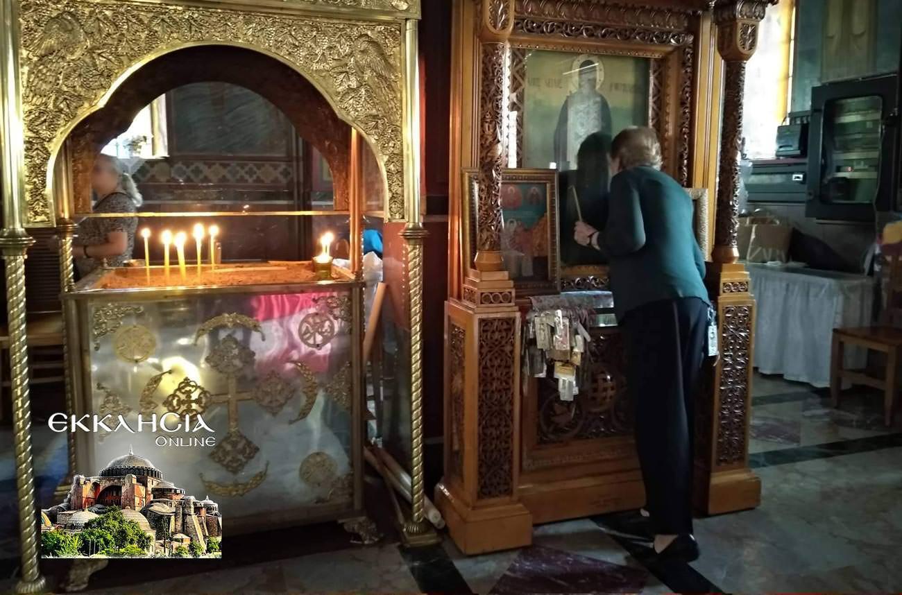 Παναγία Κυκκώτισσα στον Ιερό Ναό Αγίου Νείλου Πειραιά