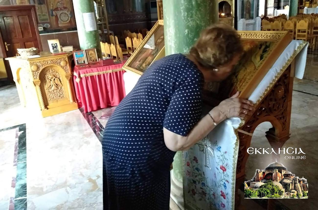 Παναγία Κυκκώτισσα Ιερός Ναός Αγίου Νείλου Πειραιά 2019