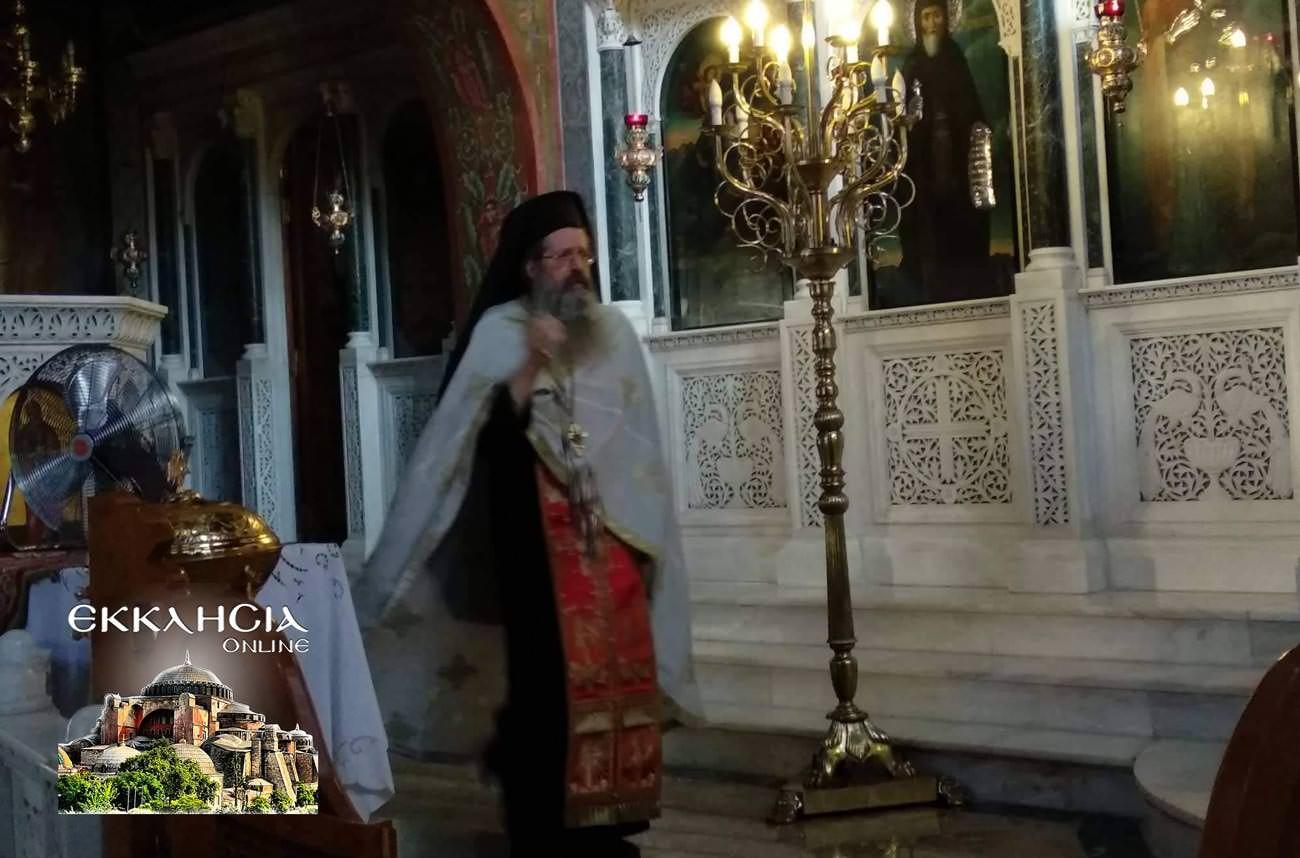 Παναγία Κυκκώτισσα Ιερός Ναός Αγίου Νείλου