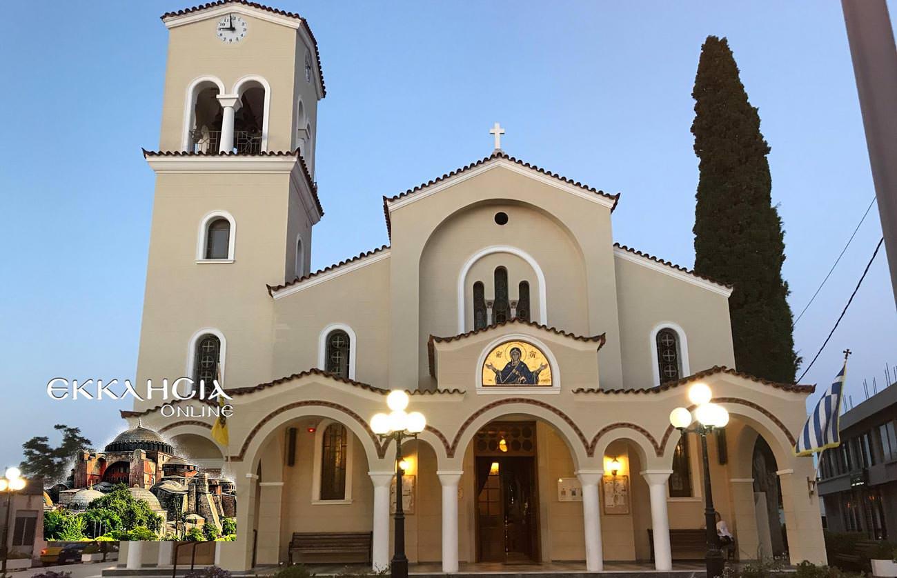 Αγία Μαρία η Μαγδαληνή Σπάτα Εσπερινός 2019