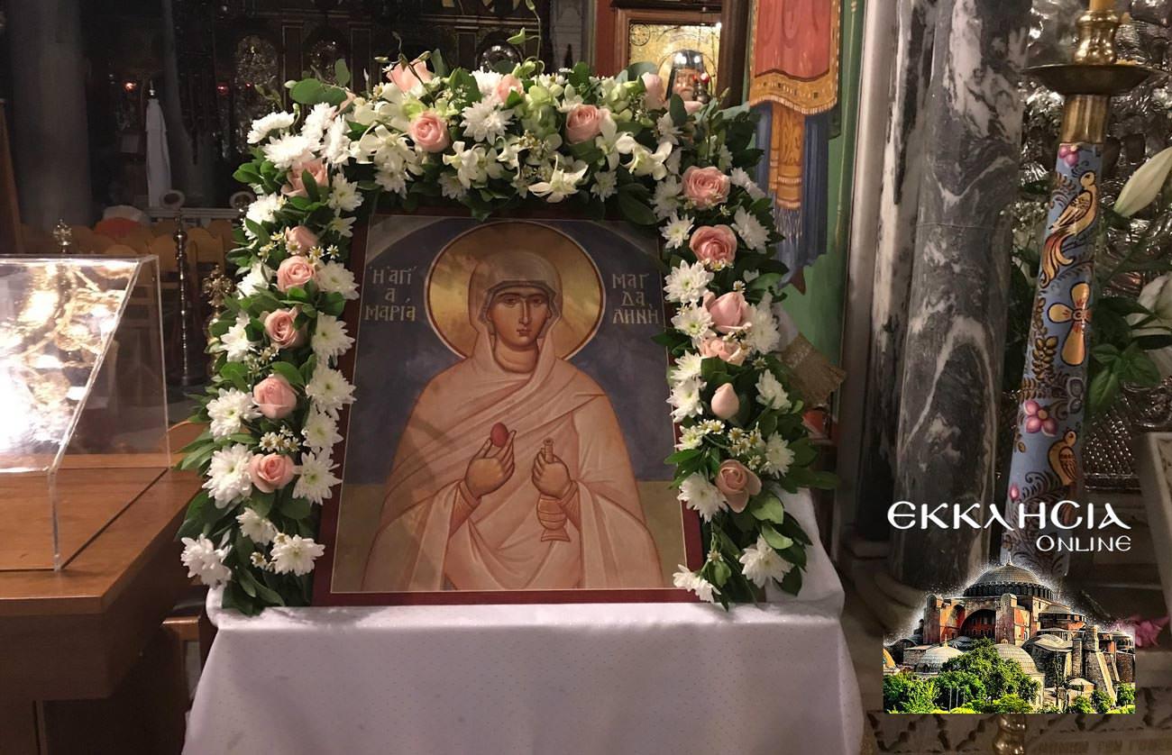 Αγία Μαρία η Μαγδαληνή εικόνα