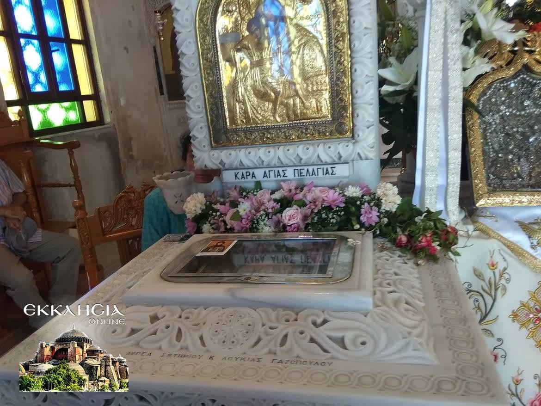 Ιερά Λείψανα Αγία Πελαγία Τήνος 2019