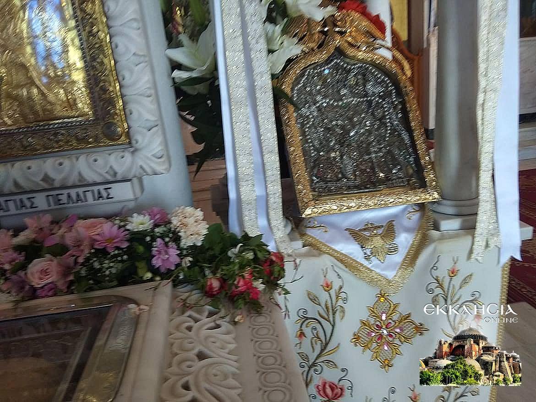 Ιερά Λείψανα Αγία Πελαγία Τήνος