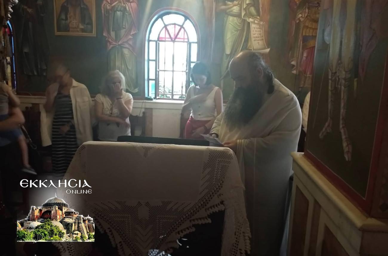 Αγίου Φανουρίου Εσπερινός Άγιος Παΐσιος 2019