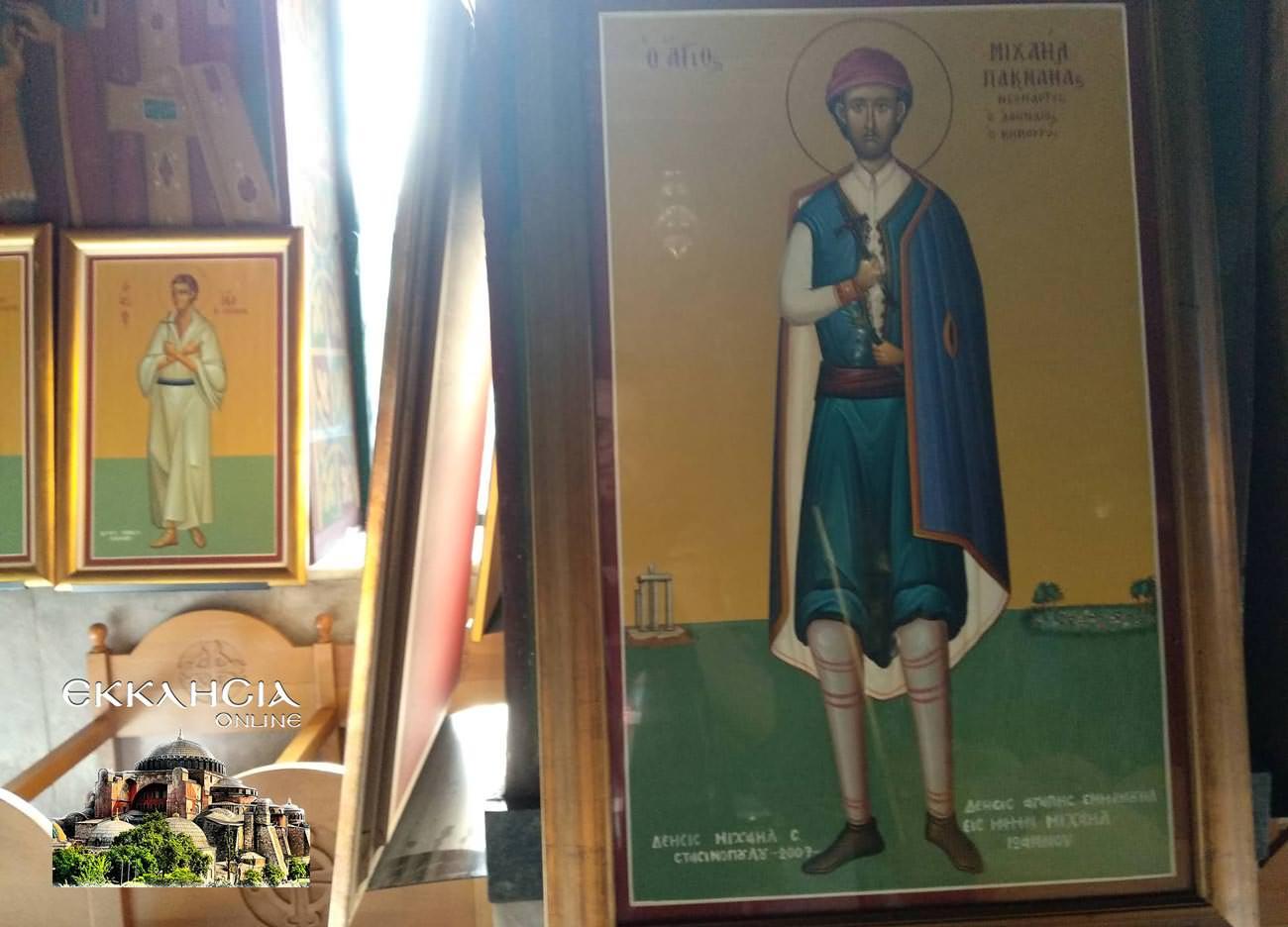Άγιος Μιχαήλ Πακτανάς εικόνα