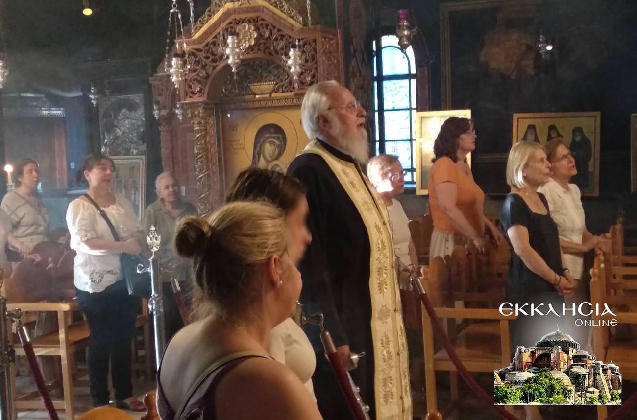 Άγιος Μιχαήλ Πακτανάς Ναός Αγία Φωτεινή Ιλισός 2019