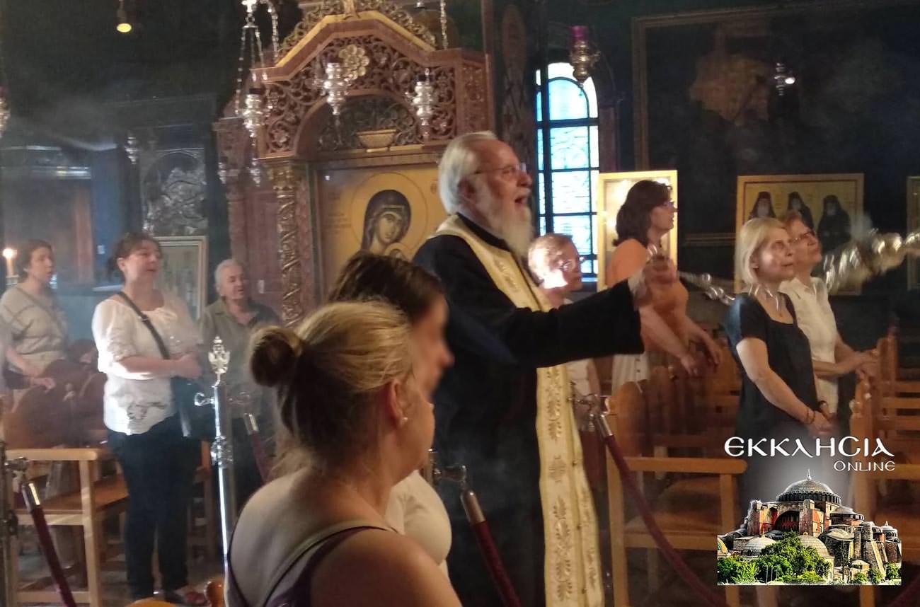 Άγιος Μιχαήλ Πακτανάς Ναός Αγία Φωτεινή 2019