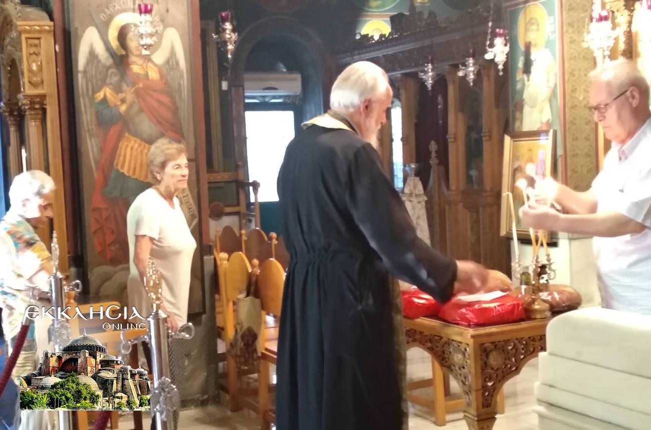 Άγιος Μιχαήλ Πακτανάς Ναός Αγία Φωτεινή Ιλισός