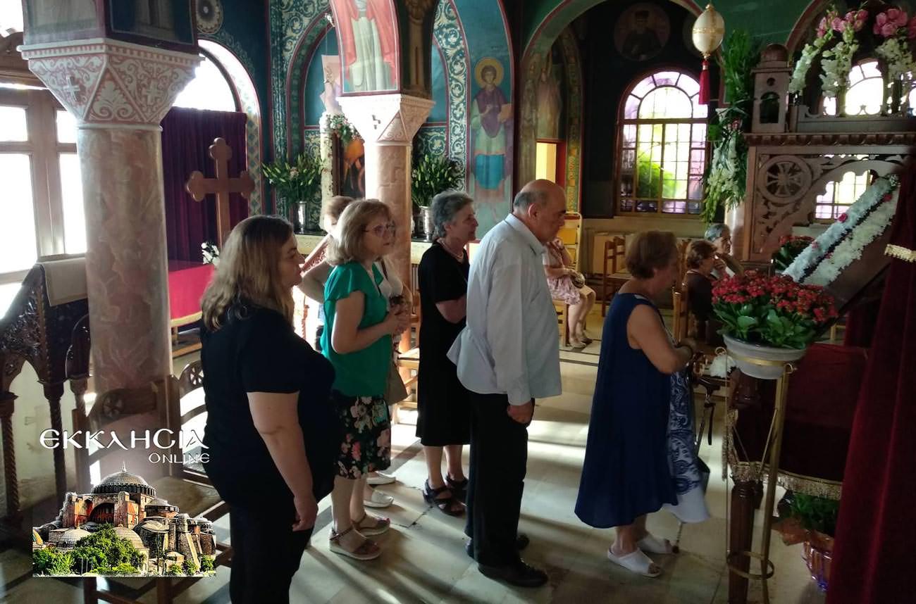 Ναός Παναγίας Βλαχερνών προσκύνημα