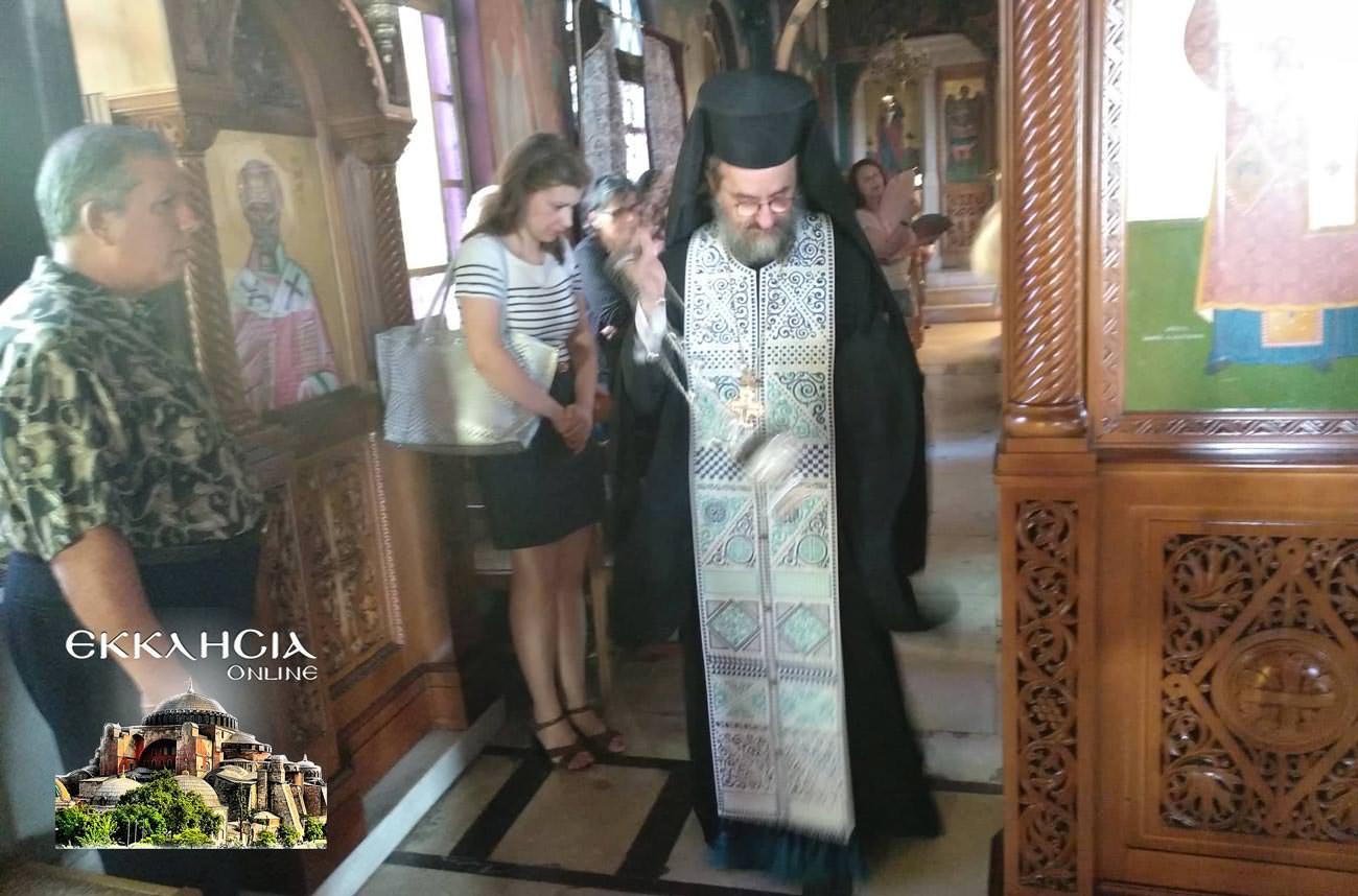 Ιερός Ναός Παναγίας Βλαχερνών Αμαρουσίου 2019