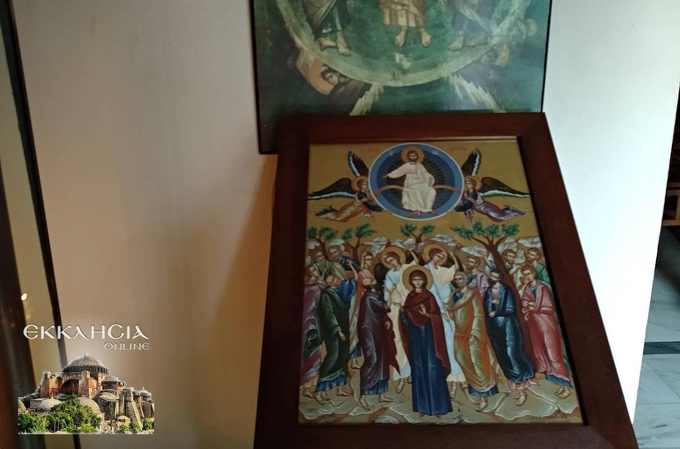 Μετόχι Σιμωνόπετρας Βύρωνας Ιερά Αγρυπνία του Τιμίου Προδρόμου 2019
