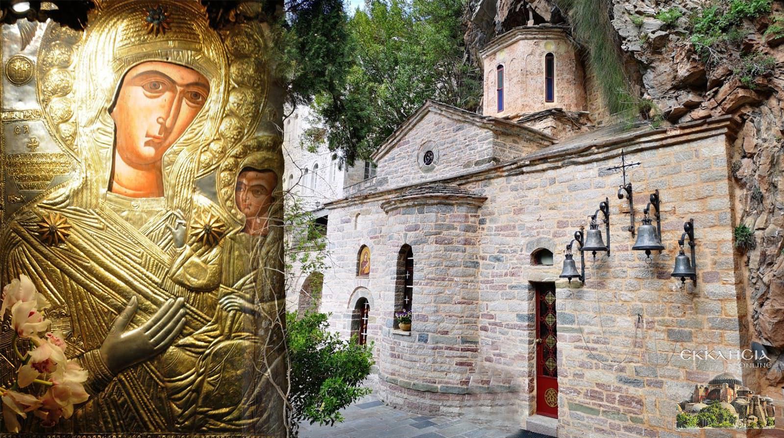 Παναγία Θαύμα Ιερά Μονή Προυσού