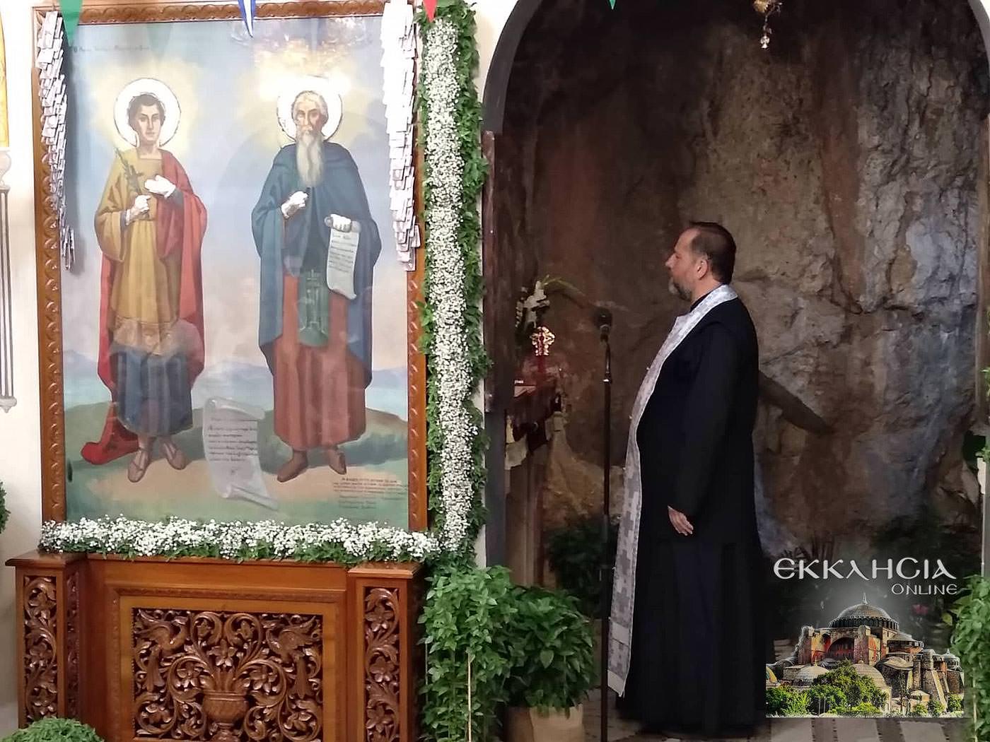 Ιερός Ναός Αγίων Ισιδώρων Λυκαβηττού Ύψωση Σταυρού 2019