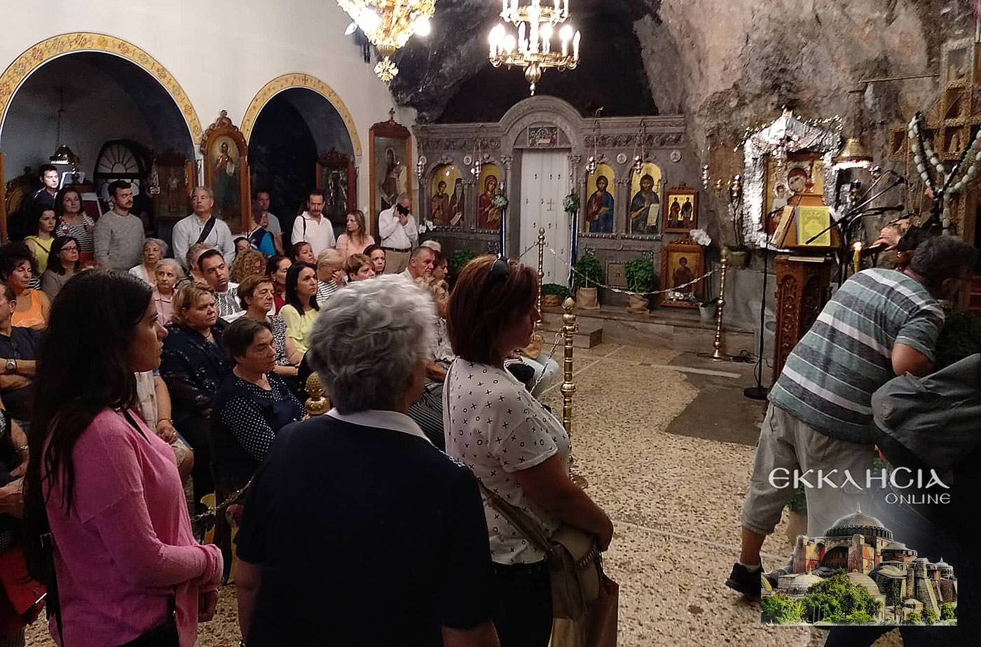 Ιερός Ναός Αγίων Ισιδώρων Λυκαβηττού Τιμίου Σταυρού 2019