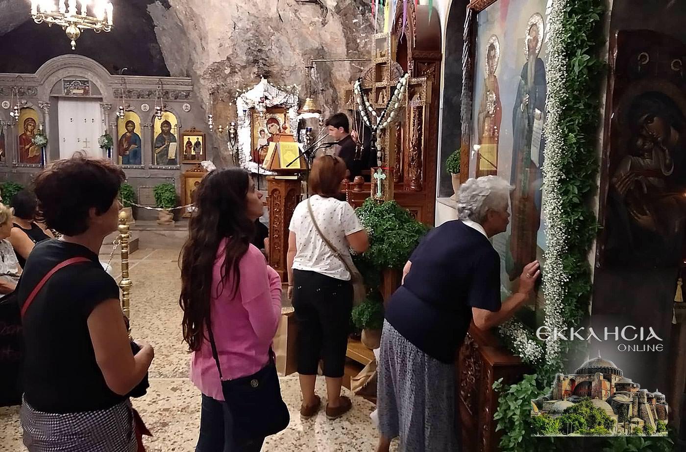 Ιερός Ναός Αγίων Ισιδώρων Λυκαβηττού Σταυρού 2019