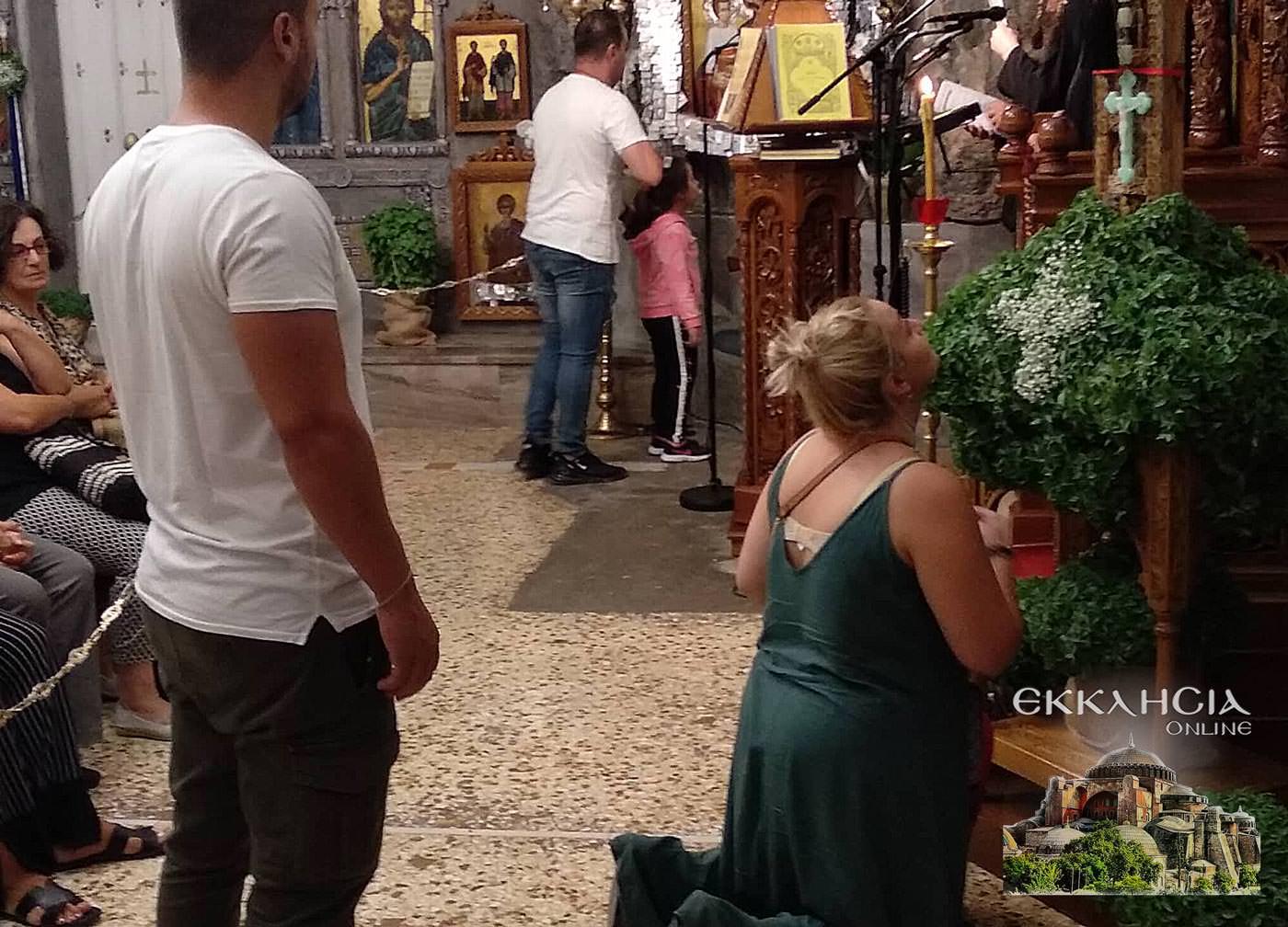 Ιερός Ναός Αγίων Ισιδώρων Λυκαβηττού Υψώσεως Τιμίου Σταυρού 2019