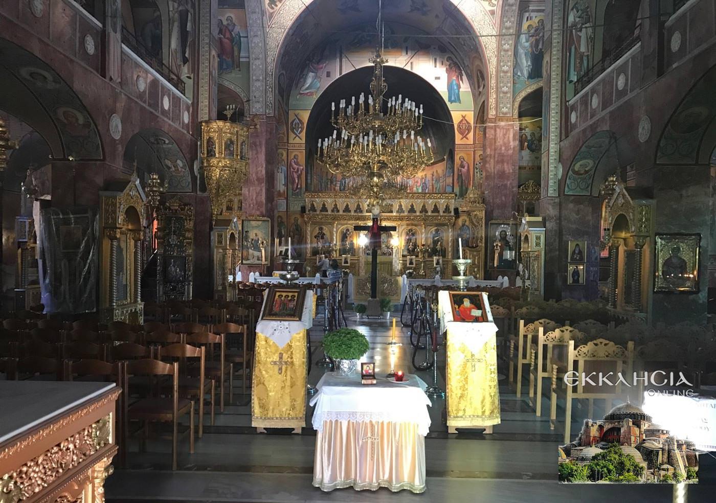 Άγιος Αμφιλόχιος Μακρής Ιερός Ναός Αγίου Γεωργίου 2019