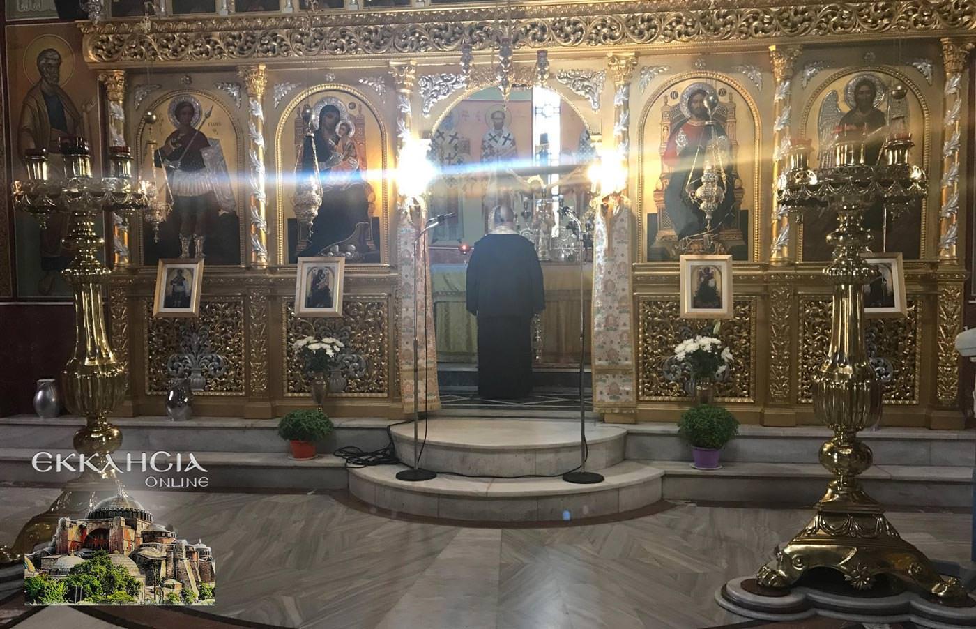 Άγιος Αμφιλόχιος Μακρής Ναός Αγίου Γεωργίου 2019