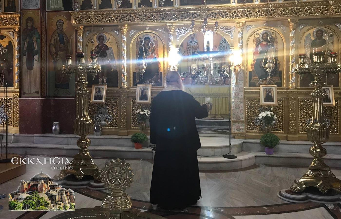 Άγιος Αμφιλόχιος Μακρής Ναός Αγίου Γεωργίου