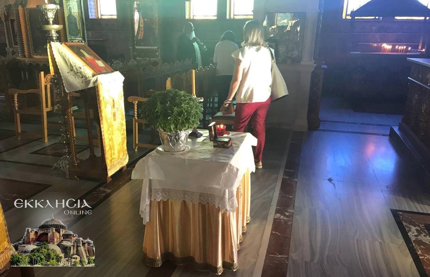 Άγιος Αμφιλόχιος Μακρής Ιερά Λείψανα 2019