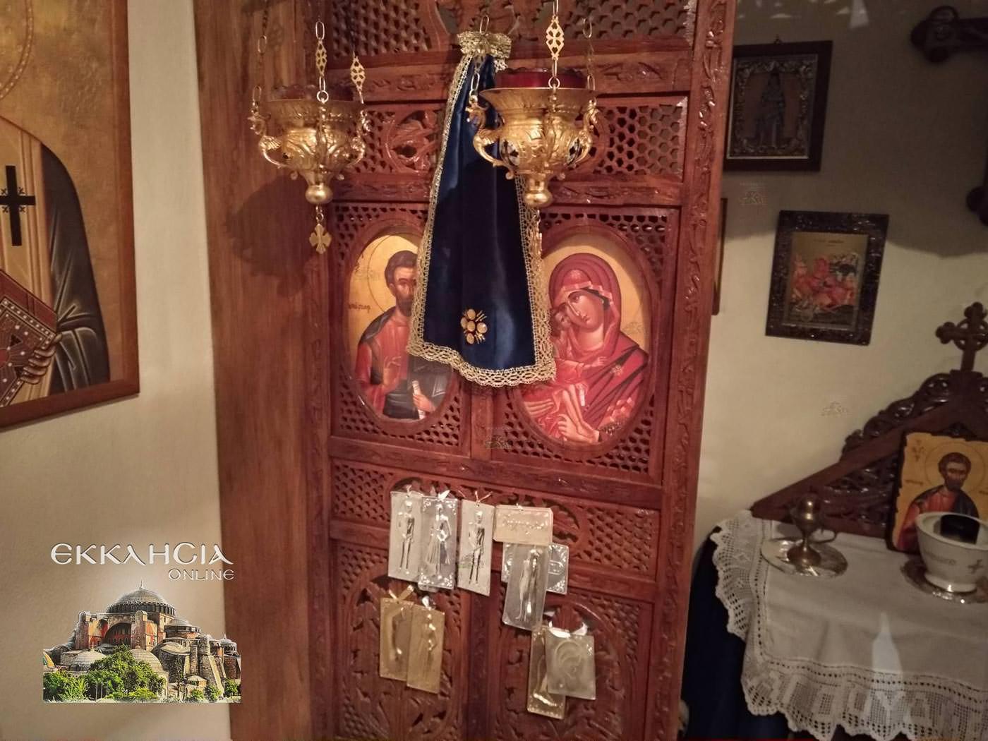 Παρεκκλήσι Ιούδα Θαδδαίου Παναγίας Μυρτιδιωτίσσης