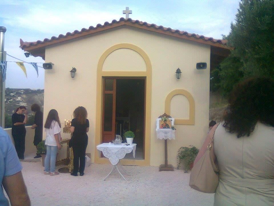 Εκκλησάκι Αγίου Ιούδα Θαδδαίου Φοινικιά Ηρακλείου