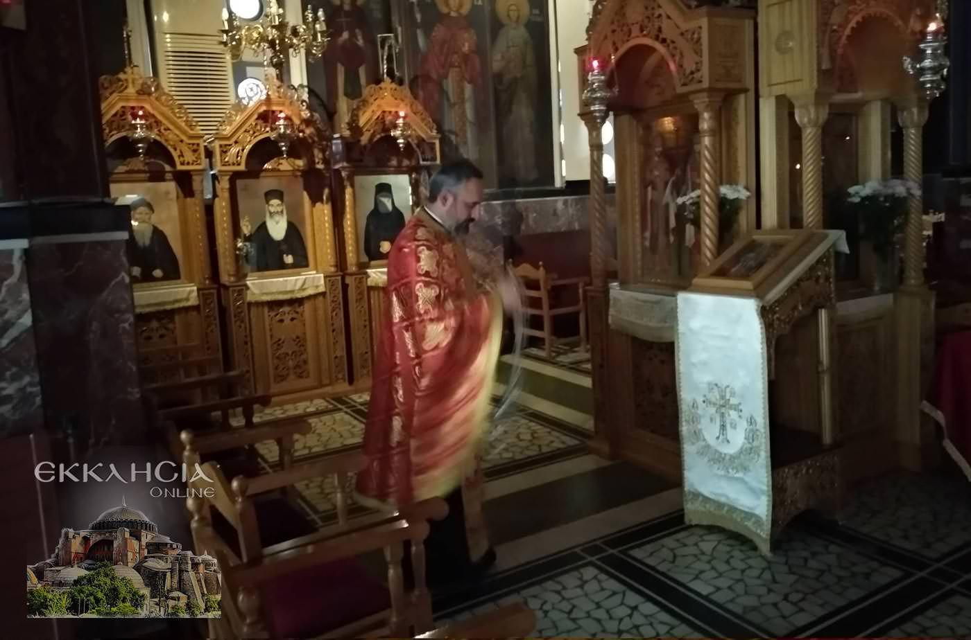 Ιερός Ναός Αγίας Τριάδας Βύρωνας Τιμίου Σταυρού 2019