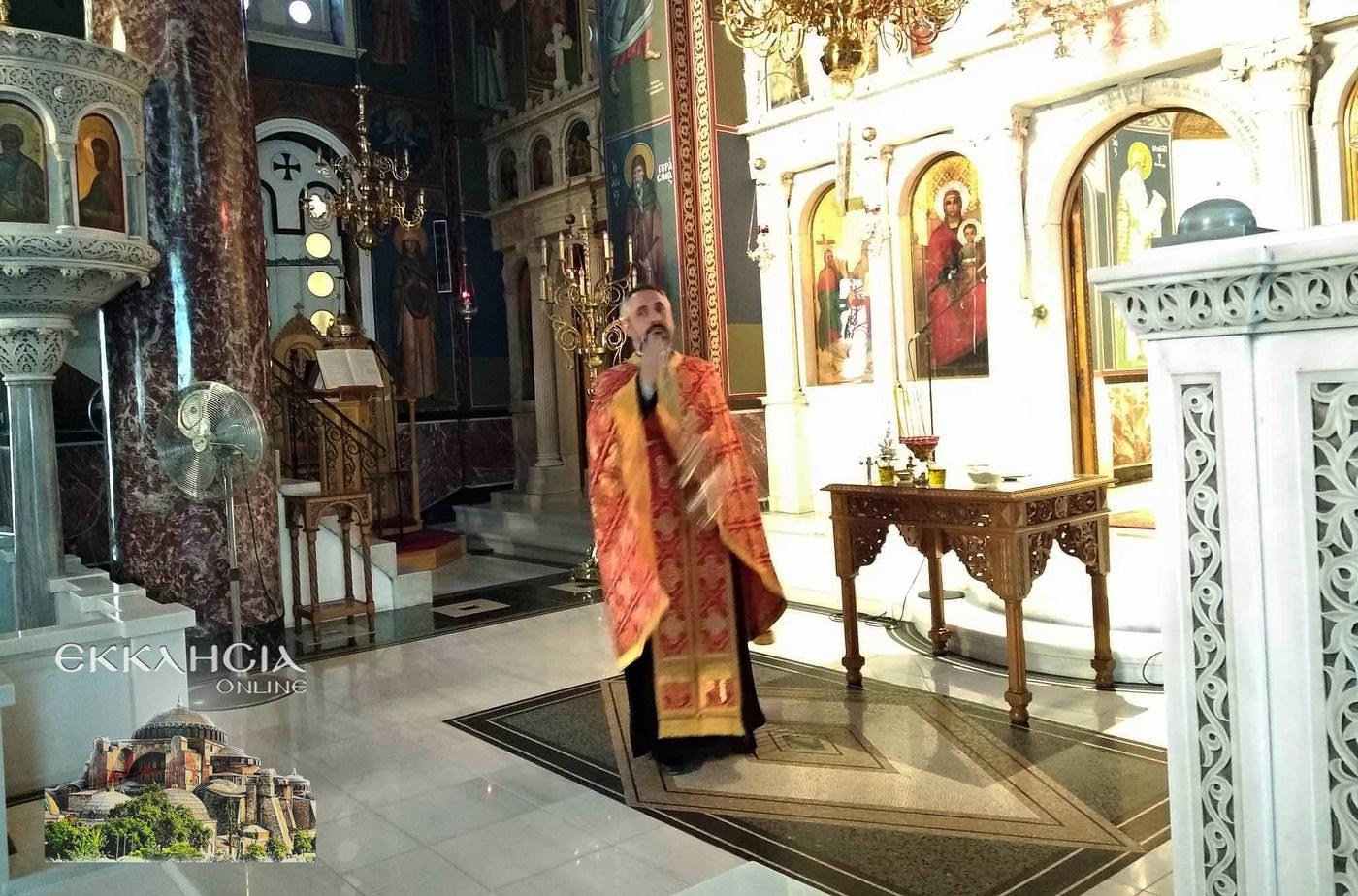 Ιερός Ναός Αγίας Τριάδας Βύρωνας Σταυρού 2019