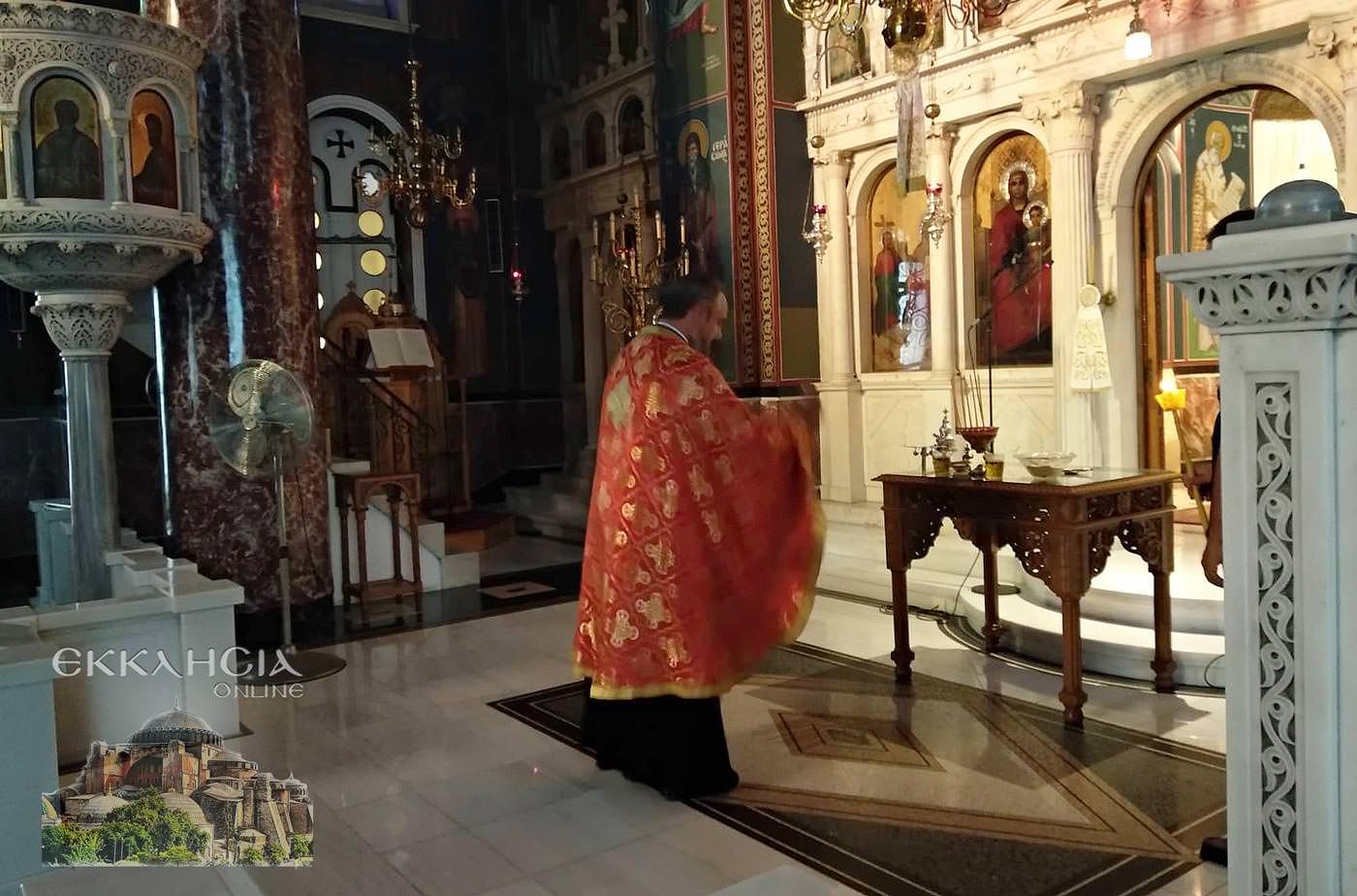 Ιερός Ναός Αγίας Τριάδας Τιμίου Σταυρού 2019