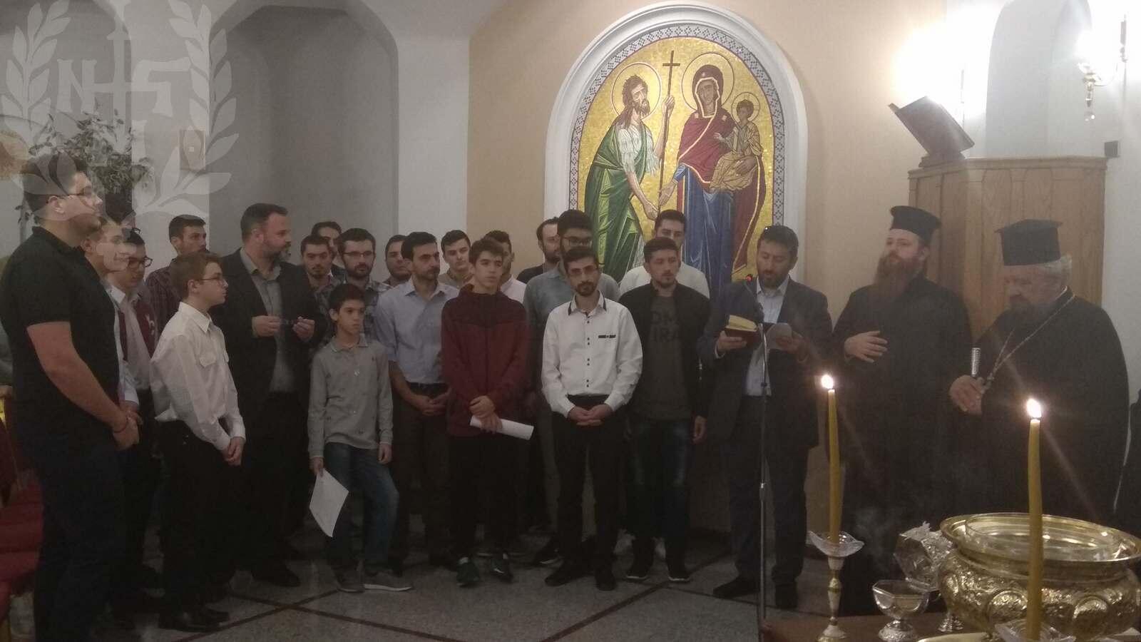 Μητροπολίτης Βαρνάβας Αγιασμός στη Σχολή Βυζαντινής Μουσικής 2019