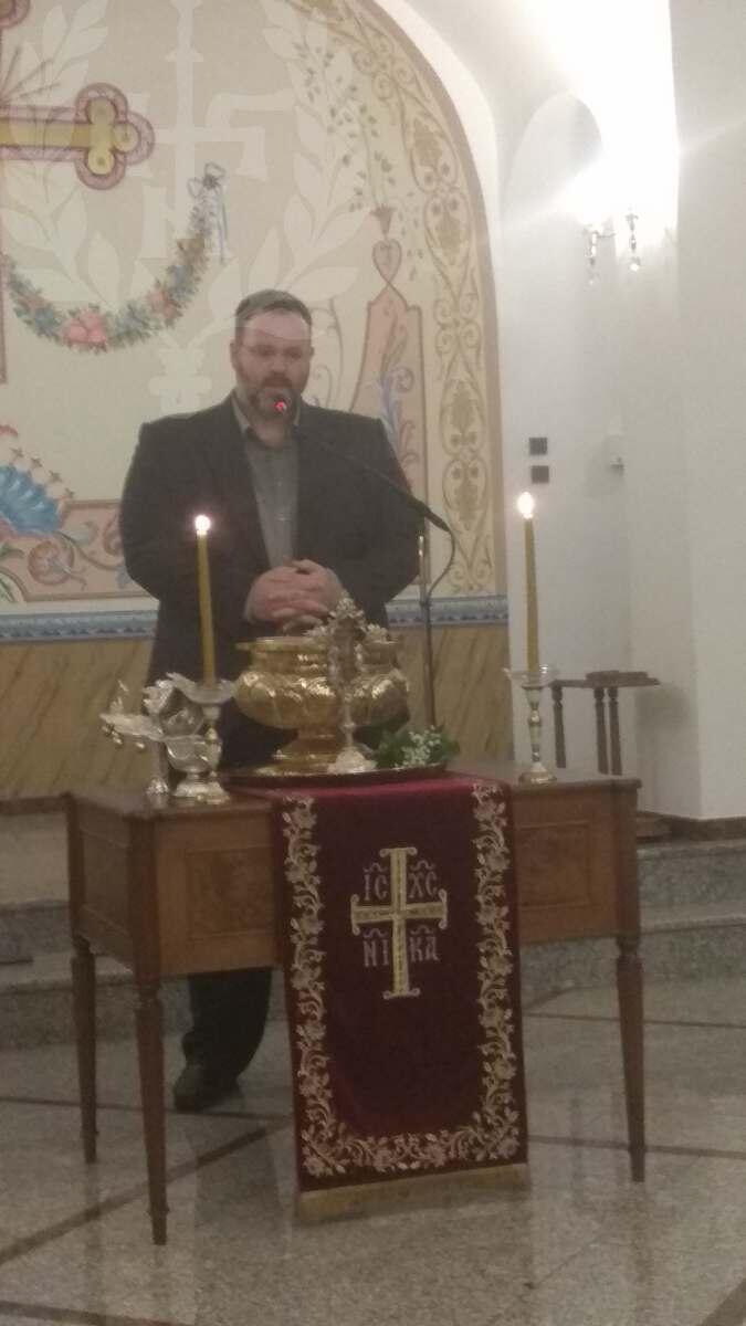 Αγιασμός στη Σχολή Βυζαντινής Μουσικής