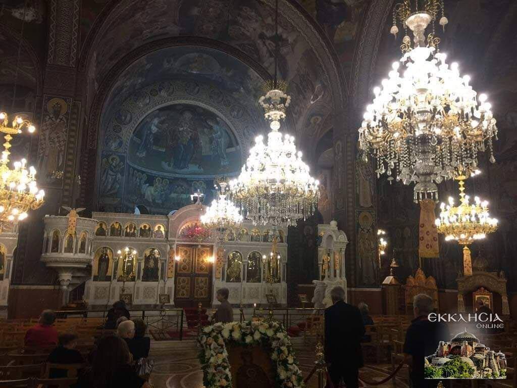 Ιερός Ναός Αγίου Αρτεμίου Εσπερινός 2019