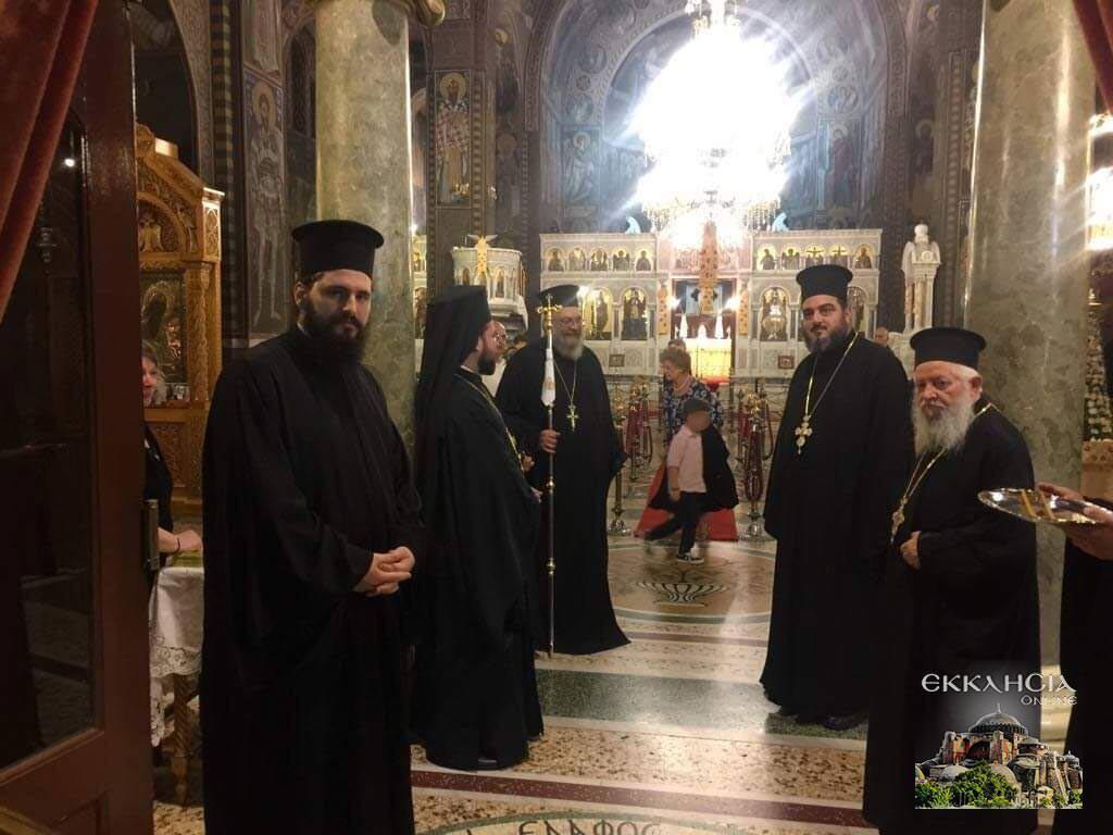 Ιερός Ναός Αγίου Αρτεμίου Εσπερινός Αγία Αναστασία η Ρωμαία και Οσιομάρτυς 2019
