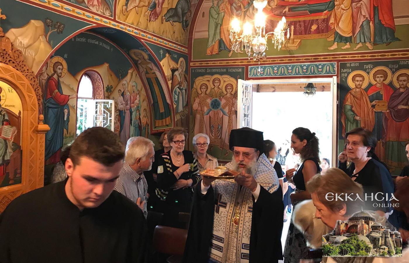 Εγκαίνια Ιερού Ναού Αγίας Ειρήνης Κηφισιά