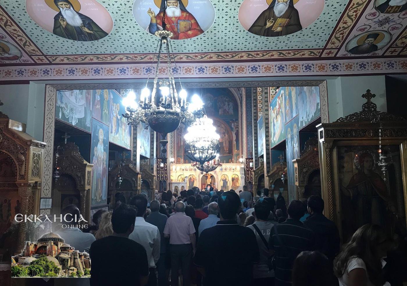 Ιερός Ναός Μεταμορφώσεως Σωτήρος Βύρωνας 2019
