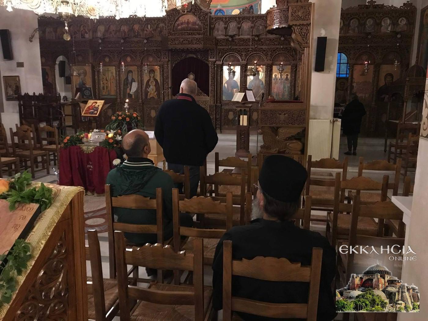 Ιερός Ναός Άγιος Κοσμάς Αιτωλός Μαρούσι