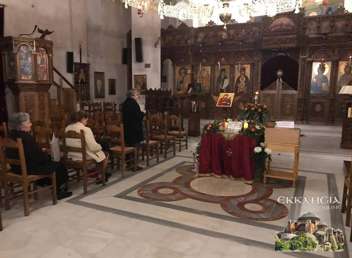 Εκκλησία Αγίου Κοσμά Αιτωλού Μαρούσι