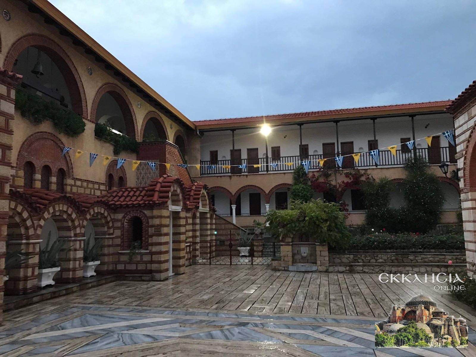 Μοναστήρι Εισοδίων Θεοτόκου Μαρκόπουλο 2019
