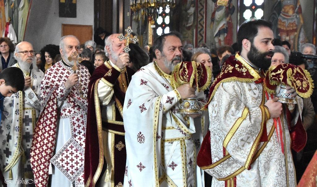 εορτή Αγίου Στεφάνου στην Ιερά Μητρόπολη Κυδωνίας