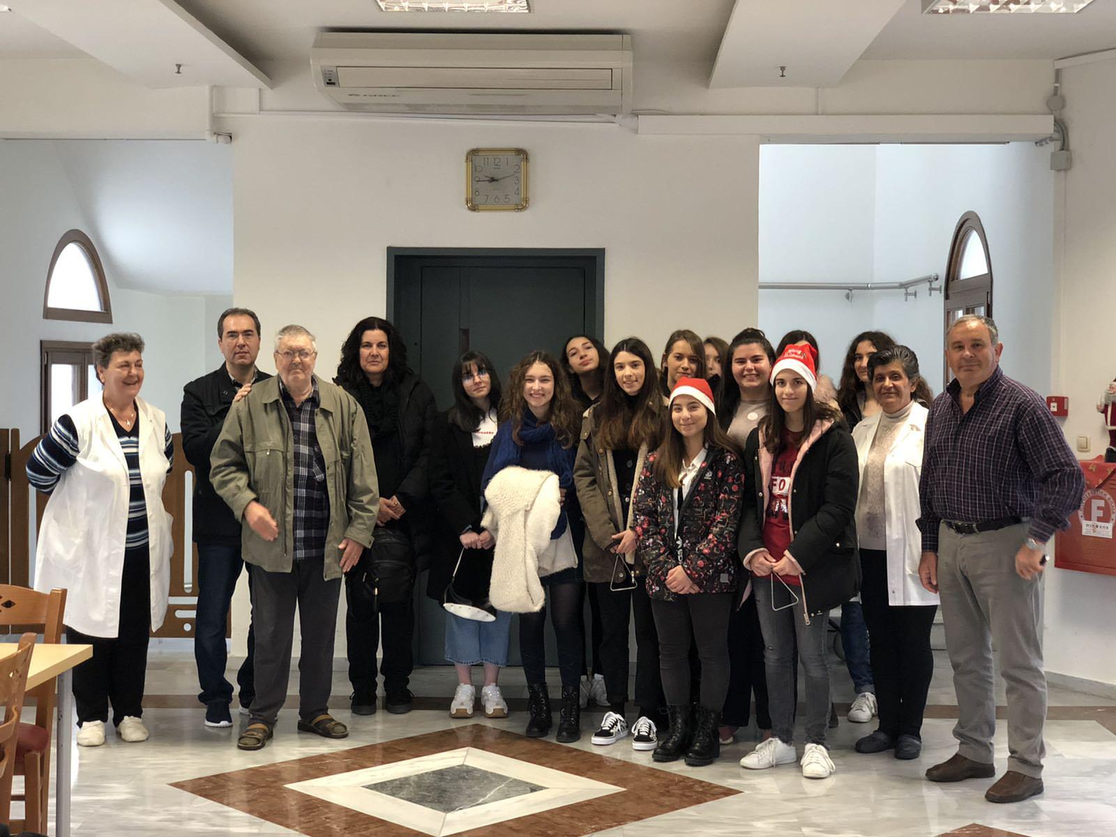 Γηροκομεία Ιεράς Μητροπόλεως Φθιώτιδος Χριστούγεννα 2019